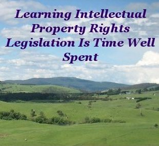 Learning intellectual property rights legislation is time well spent