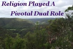 Religion played a pivotal dual role