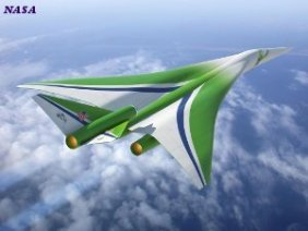NASA - Lockheed Martin experimental supersonic passenger aircraft