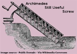 Archimedes Still Useful Screw