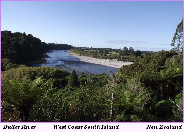 Buller River West Coast South Island New Zealand
