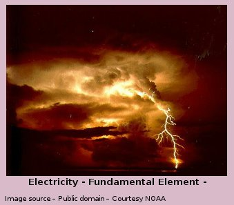 Electricity is a fundamental element