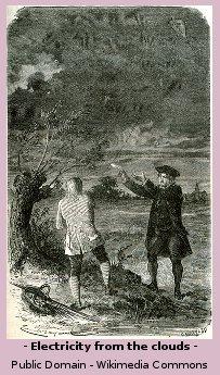 Ben Franklins Famous Lightning Experiment