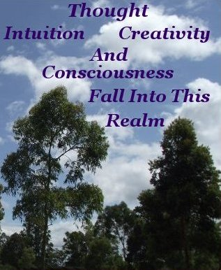 Thought intuition creativity and consciousness fall into this realm