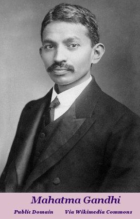 Mohandas Karamchand Gandhi circa 1906