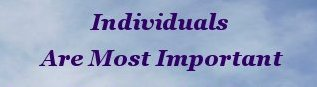 Individuals are most important