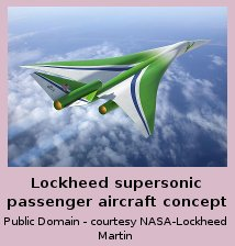 Lockheed Supersonic Passenger Aircraft Concept