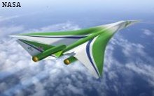 NASA - Lockheed Supersonic Passenger Aircraft Concept