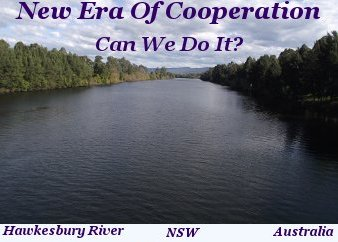 New era of cooperation. Can we do it?