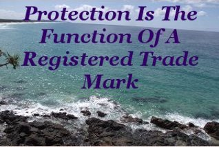 Protection is the function of a registered trade mark