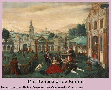 Mid Renaissance Scene