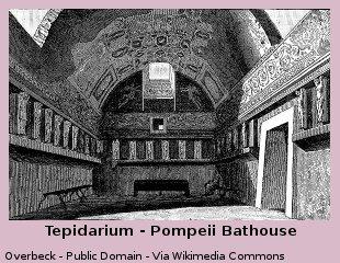 Tepidarium – Pompeii Bathhouse
