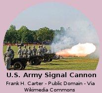 U.S. Army Signal Cannon