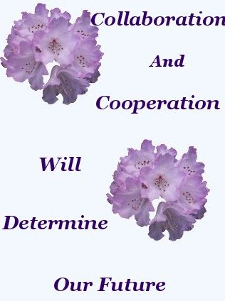 Collaboration And Cooperation will determine our future