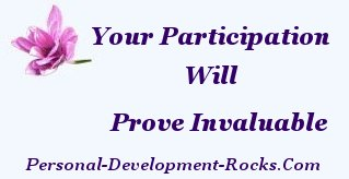 Your participation will prove invaluable