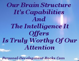 Our Brain structure, it's capabilities, and the intelligence it offers, is truly worthy of our attention
