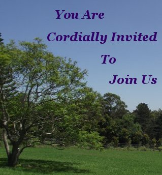 You are cordially invited to join us